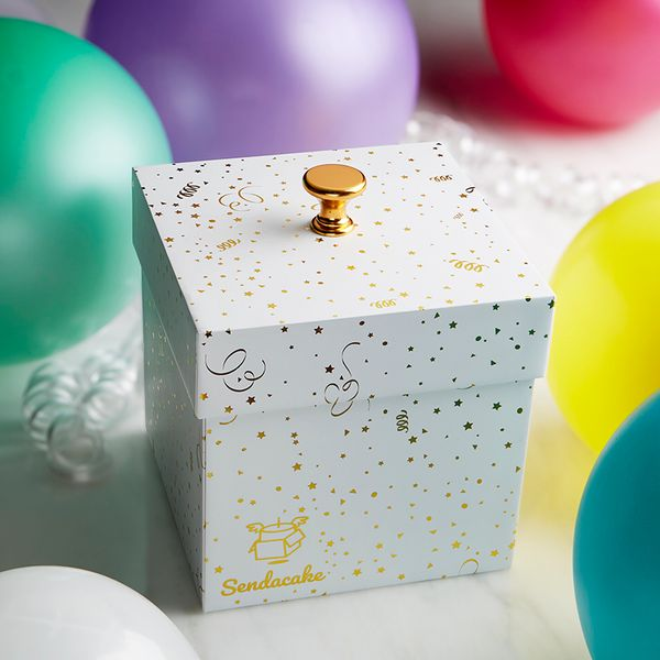 Picture of Surprise Cake Explosion Box Gift with Flying Butterfly Surprise