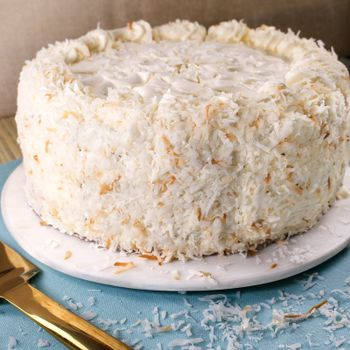 Picture of Coconut Cloud Layer Cake - 10""