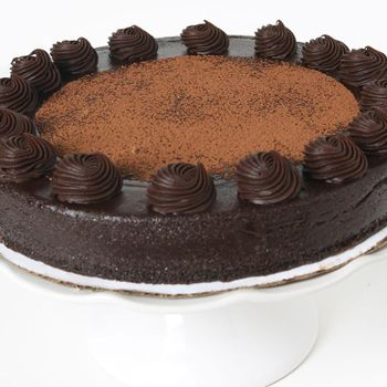Picture of Classic Chocolate Truffle Cake - 10""