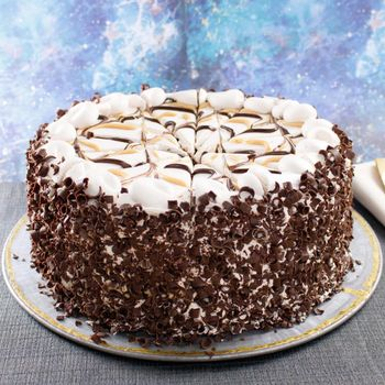 Picture of Premier Milky Caramel Galaxy Cake - 10""